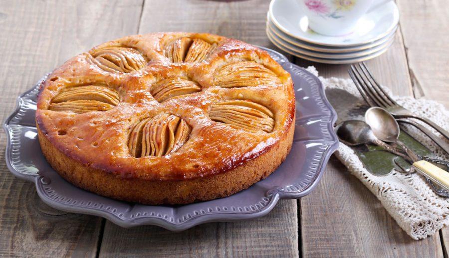 apple tea cake recipe - easy baking - baking for beginners