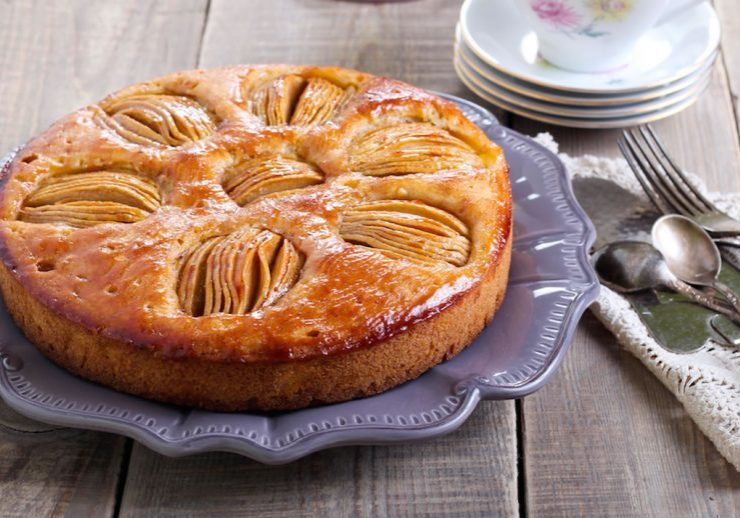 apple tea cake recipe - easy baking - baking for beginners