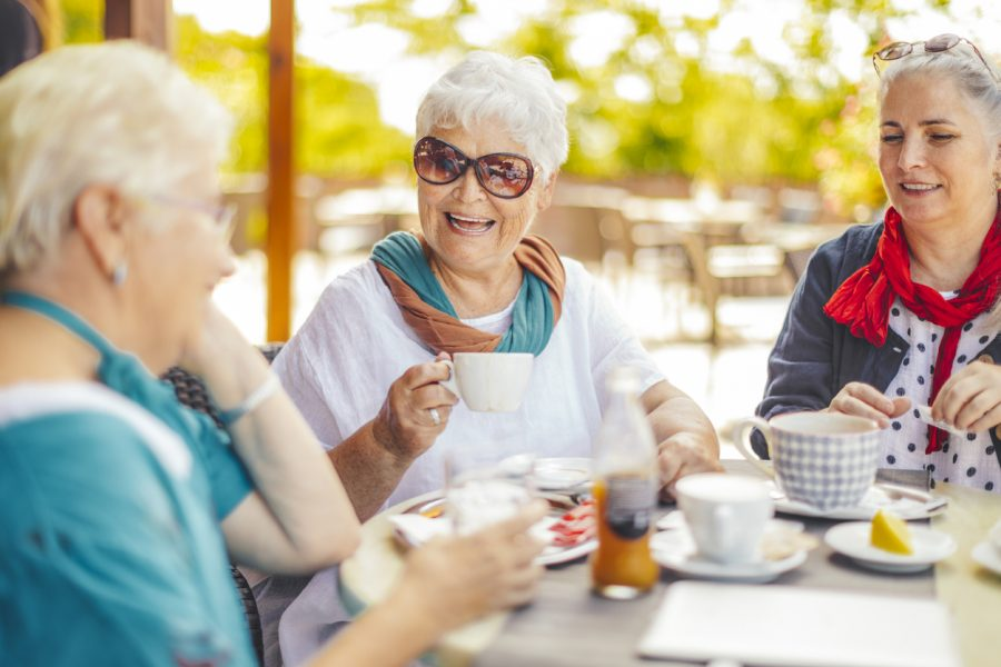 how to keep social in retirement