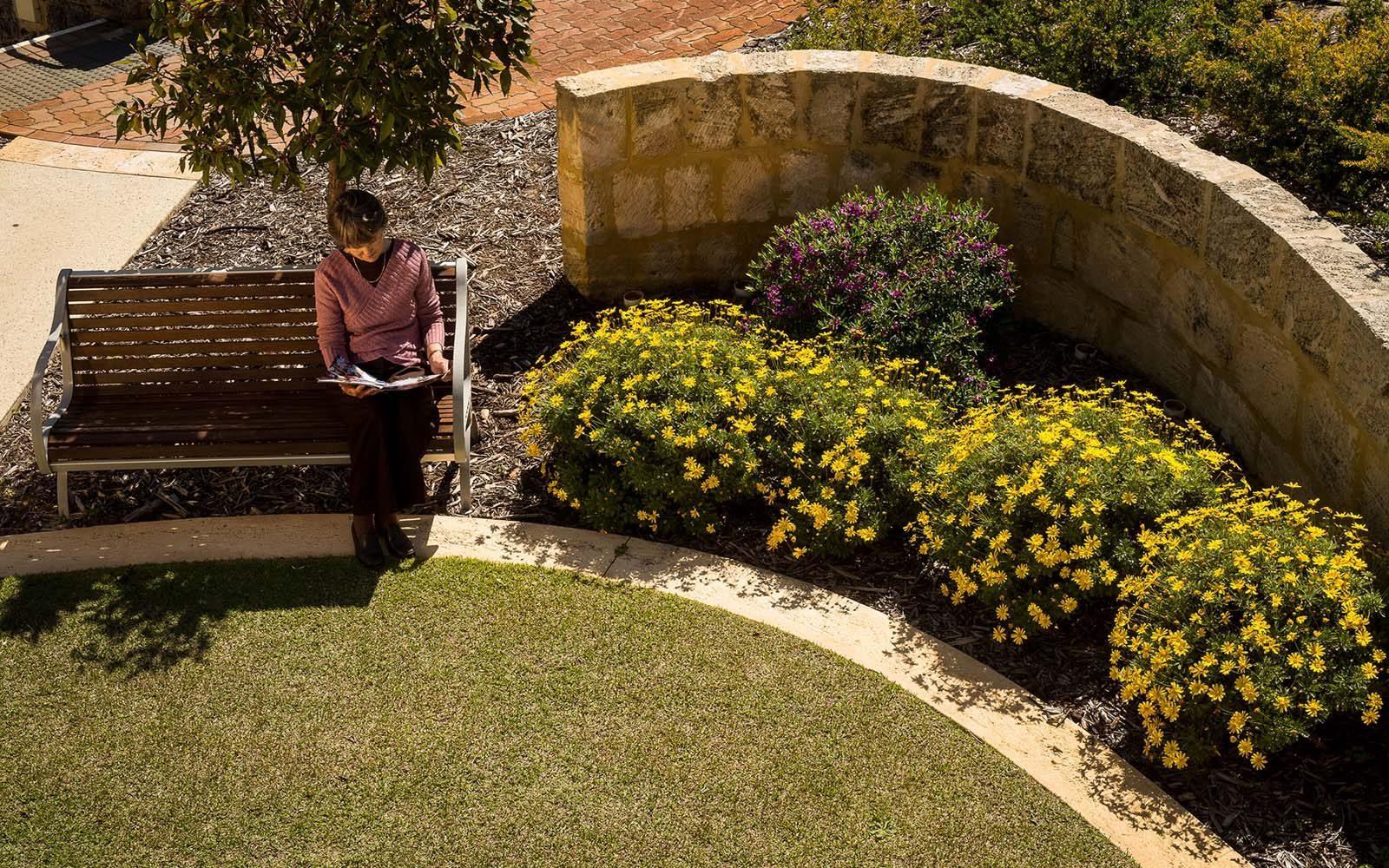 garden structure in retirement facilities