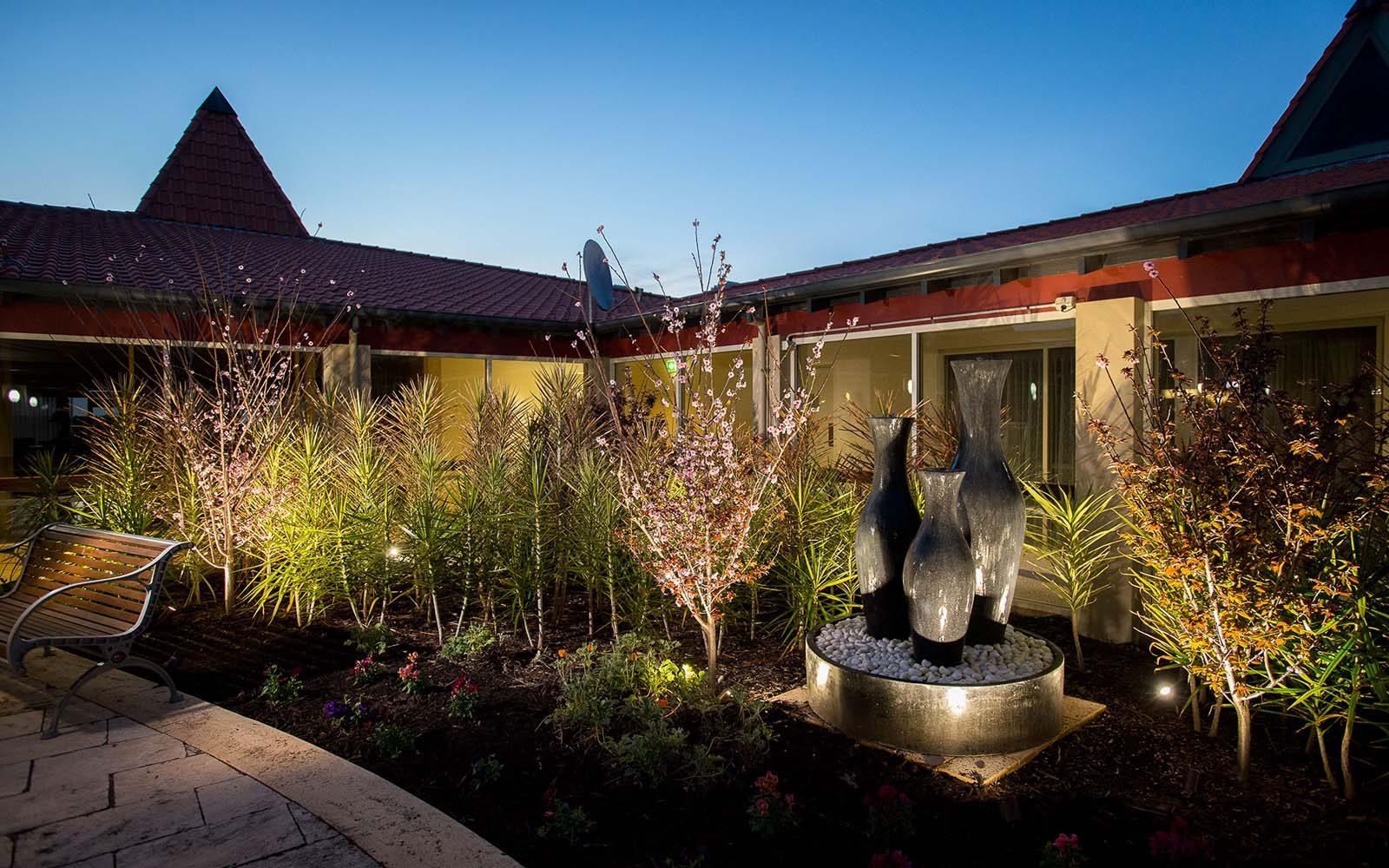 garden in retirement facilities